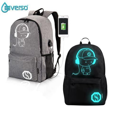Ransel Anti Maling Lazada luminous smart backpack tas ransel import sekolah casual
