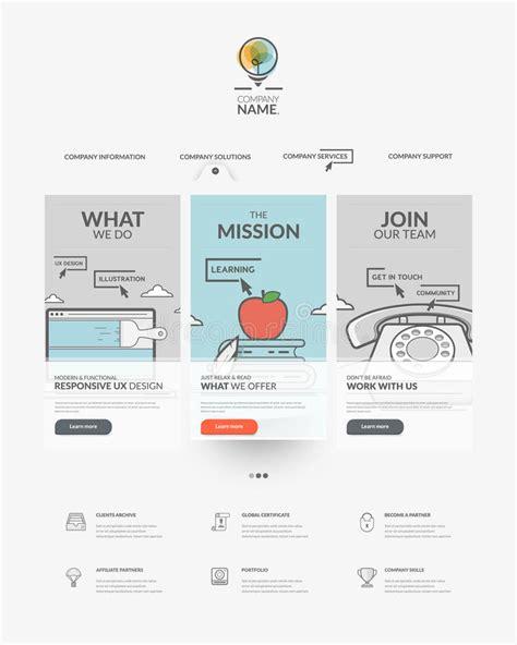 homepage design elements web site design navigation elements web page template