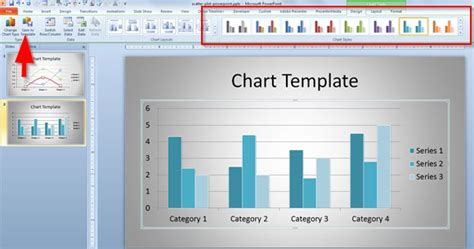 creating custom powerpoint templates how to create a custom chart template in powerpoint 2010