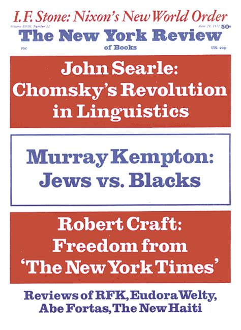 Searle 1969 Speech Acts An Essay In The Philosophy Of Language by A Special Supplement Chomsky S Revolution In Linguistics By R Searle The New York