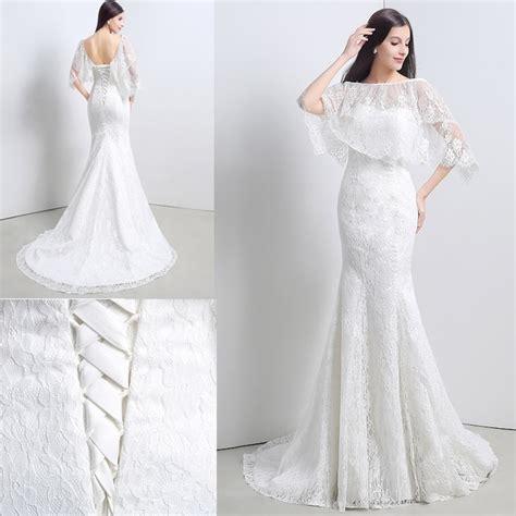imagenes vestidos de novia con encaje hermoso vestido de novia encaje corte sirena boda