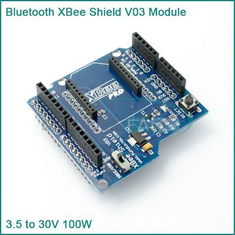code zigbee arduino new bluetooth xbee shield v03 module wireless control for