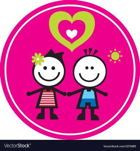 Happy Family Character Sticker happy family sticker royalty free vector image