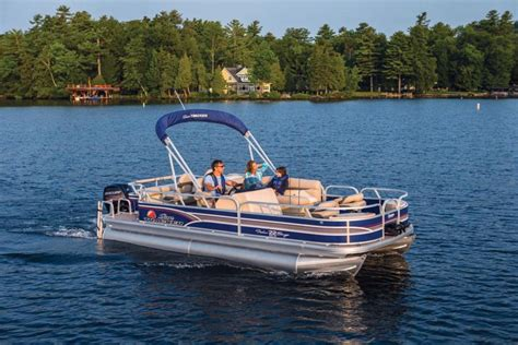 pontoon boat reviews 2015 2015 sun tracker fishin barge 22 dlx review top speed