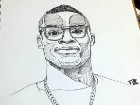 russell westbrook sketch by timothy mcauliffe dribbble