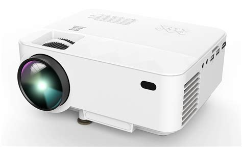 Projector Mini dbpower t20 portable mini led projector review