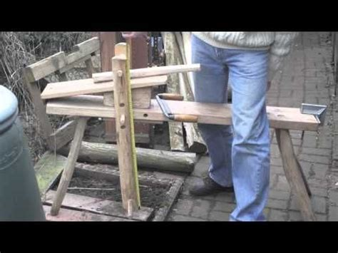 carvingshaving horse tripod style chopping