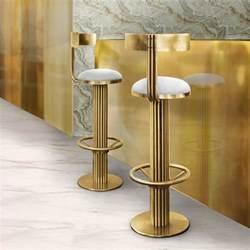 luxury mid century gold modern bar stool juliettes