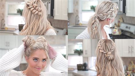 How Much R Up Dos In Ga | my 10 favorite everyday braided hairstyles youtube