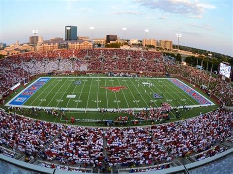 Gerald J Ford Stadium by Smu Gerald J Ford Stadium Dallas Tx 75275 Visit Dallas