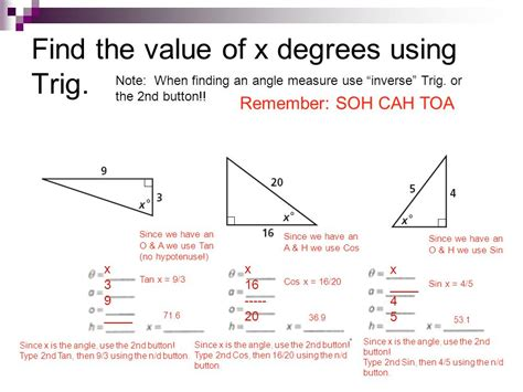 how do you find the value of a boat 8 4 sine cosine and tangent ratios ppt video online
