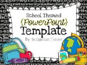 free powerpoint presentation templates for teachers this is a school themed powerpoint template each slide is