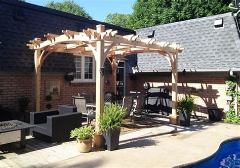 arched pergola kits 10x12 outdoor living today