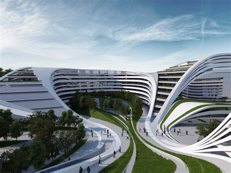zaha hadid zaha hadid s beko building in belgrade business insider