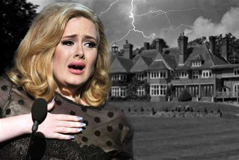 Adele House by Rolling In The Creepy Adele S House Is Haunted Popdust