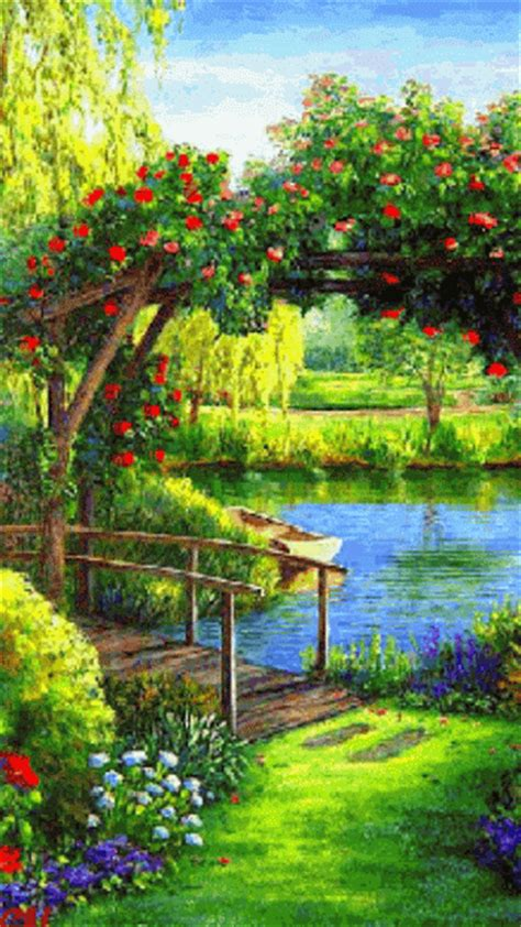 imagenes flores de jardin imagenes de jardines gifs