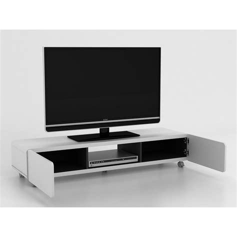 Meja Tv Roda funika jeff 1400 meja tv panjang dengan roda elevenia