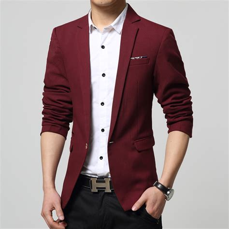 Blazer Korea Slimfit 5 blazer korean slim fit mens free shipping worldwide