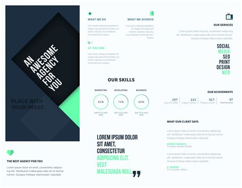 design your own leaflet online 5 free online brochure templates to create your own brochure