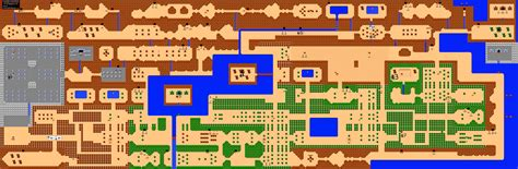 legend of zelda interactive map the legend of zelda quest 2 overworld map for nes by