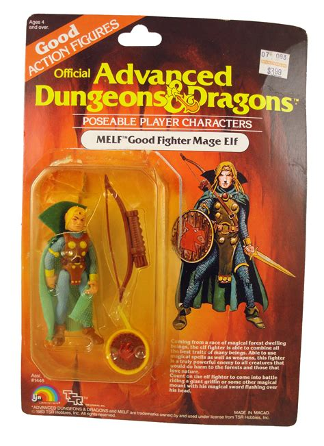 d d figures 1983 advanced dungeons dragons melf figure packaged