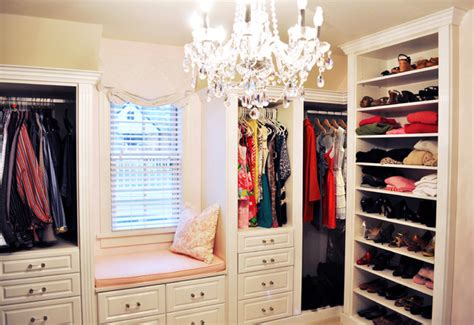 California Closet Design Ideas by Master Closet In White High Gloss Traditional Closet
