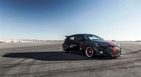 hyundai racing hyundai veloster turbo r spec by blood type racing