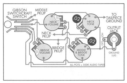 inside the les paul schematics