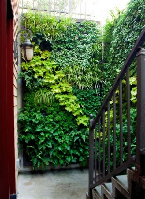 Green Wall Vertical Garden Living Walls Vertical Gardens Boat Vintage Diy