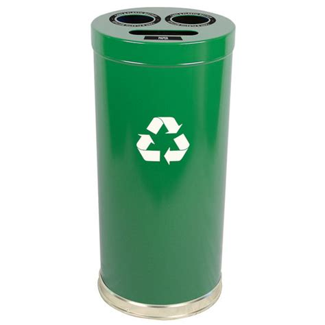 kitchen trash can recycle bin combo trash cans combo recycling cans by witt kitchensource
