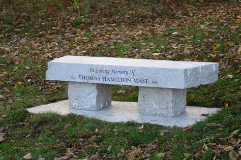 granite memorial benches maine benches millennium granite quarry