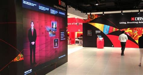dbs bank stands for the resulting retail bank design utilises a motion