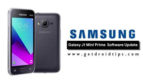 Samsung J1 Update j106fjvu0ara1 j106fjvs0arb1 january 2018 for galaxy j1 mini prime