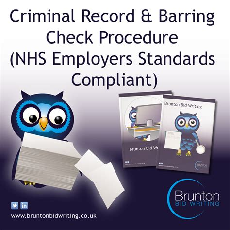 Criminal Record Uk Criminal Record Barring Dbs For Recruitment Agencies Supplying Nhs