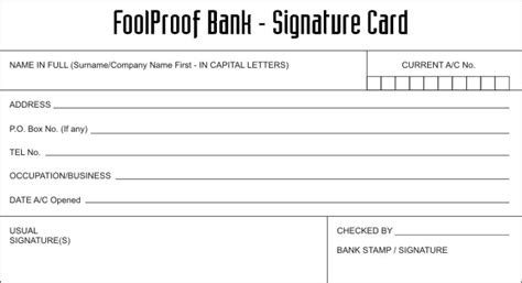 signature card template foolproof lite no sugar or sweeteners added