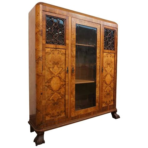Three Door Armoire Deco Three Door Armoire Circa 1930 For Sale At 1stdibs