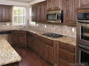 wood cabinet kitchen what are the different types of wood cabinets with pictures