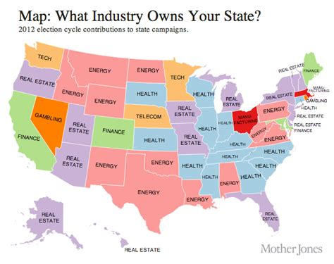 map us by state map the united states of corporatism
