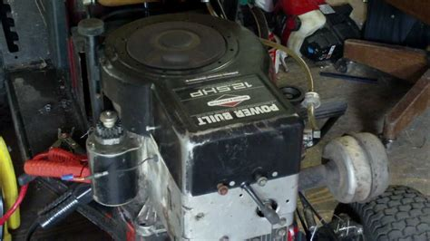 new engine 12 5 hp horsepower briggs and stratton power