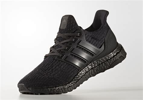 Sepatu Sneakers Adidas Ultra Boost 3 0 Black Gradepremium 40 44 adidas ultra boost 3 0 black matte heel cg3038 sneakernews