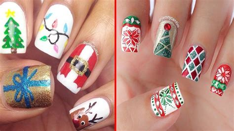 2018 christmas nails theme beautiful nails designs and ideas 2017 2018