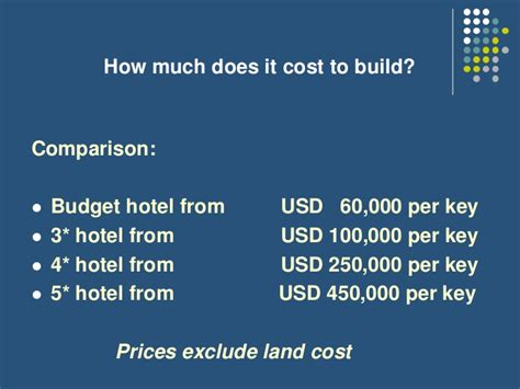 how much will it cost to build a home investment in luxury hotel projects dejan djordjevic