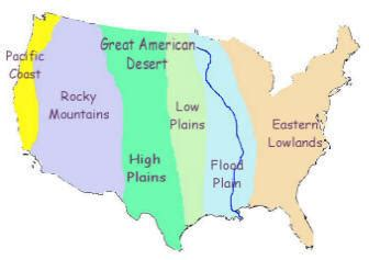 america map great plains american west the great american desert history