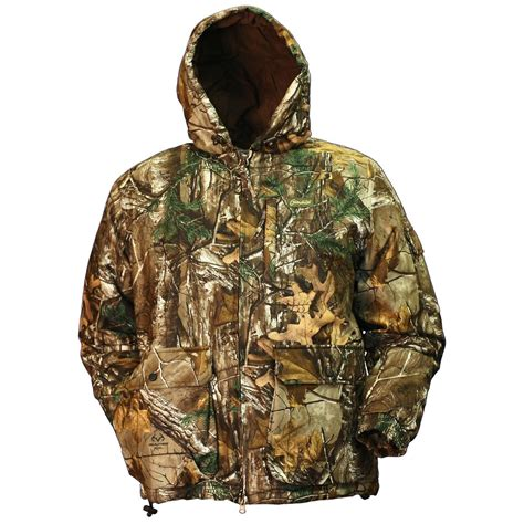 guide gear 174 realtree 174 gamehide 174 tundra jacket realtree xtra 174 425394 camo