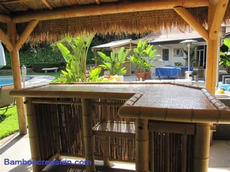 Tiki Bar Hut Assembly 25 Best Ideas About Bamboo Bar On Tiki Bars