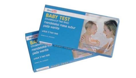 Jual Alat Tes Masa Subur Murah baby test one med untuk deteksi masa subur secara murah