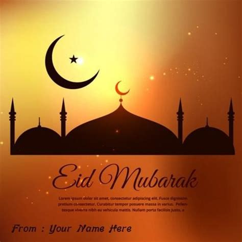 writing wishes on paper write name eid ul fitr wish image eid ul fitr wishes in