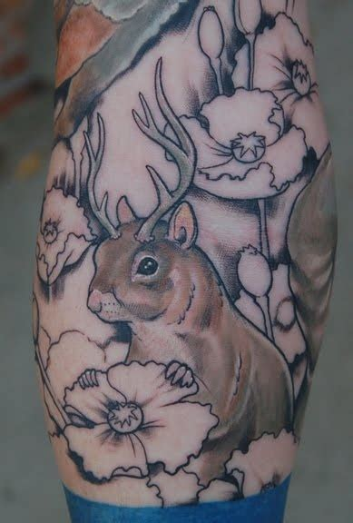 woodland tattoo designs 46 best squirrel tattoos images on