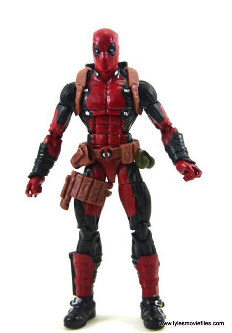 figure review marvel legends deadpool figure review build a
