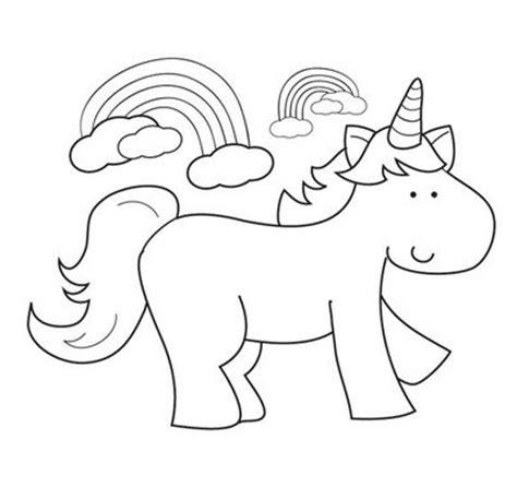 imagenes de unicornios con alas para colorear dibujos de unicornios para colorear